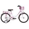 """Vermont Girly Rower dziecięcy  18"""" różowy/biały"""